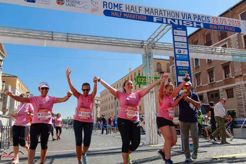 Should I join a running club - friends finishing a half marathon