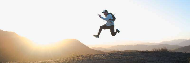 Is Running Good For Anxiety: A Runner's Story - Man Leaping