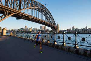 Fartlek Training for Beginners - Running under a bridge